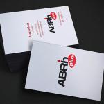 Karta biznesowa dla ABRH Plus, producenta leków