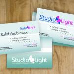Wizytówki studio light